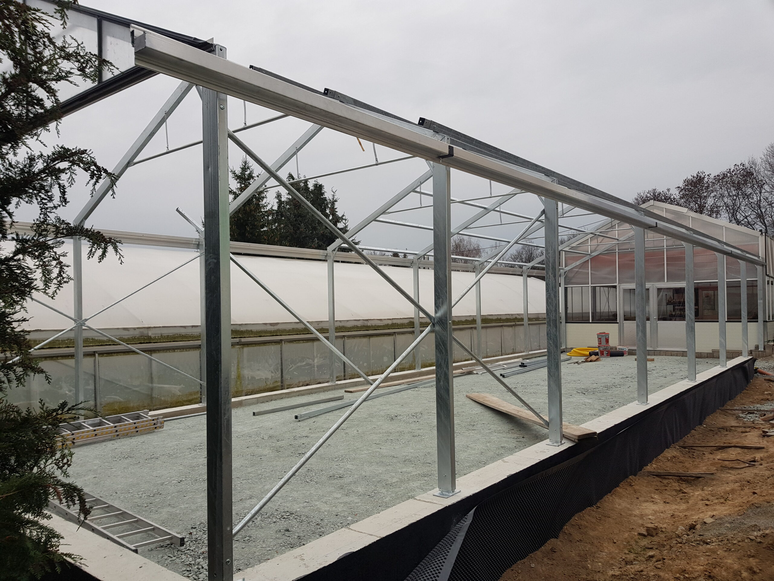 Weiterentwicklung der Gärtnerei
