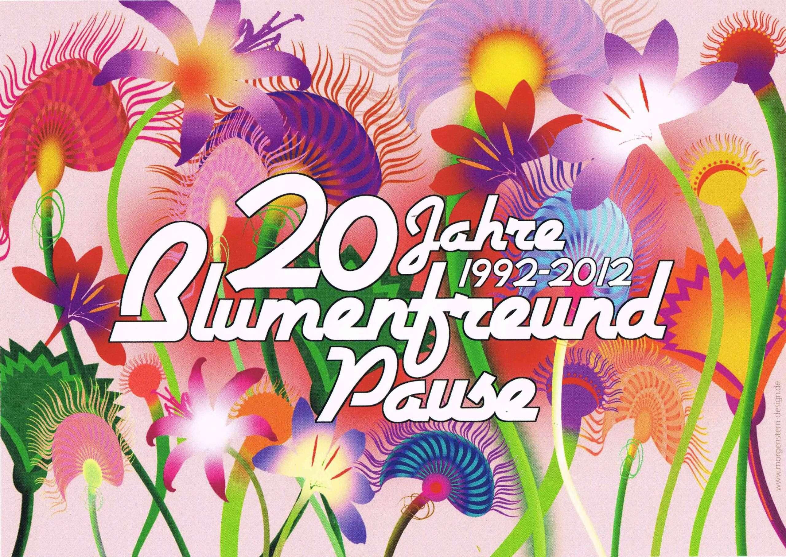 20 Jahre Blumenfreund